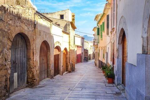 Alcudia Stadtbesichtigung