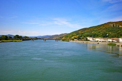 Fluss Rhone