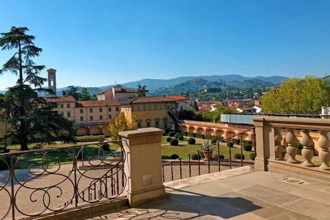 Ausblick auf die Villa Medici