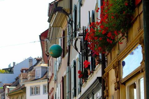 Tolle Fasaden in Basel