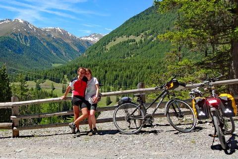 Radpause, Reisebericht St. Moritz - Innsbruck