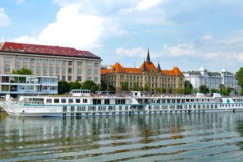 Die Donau in Bratislava