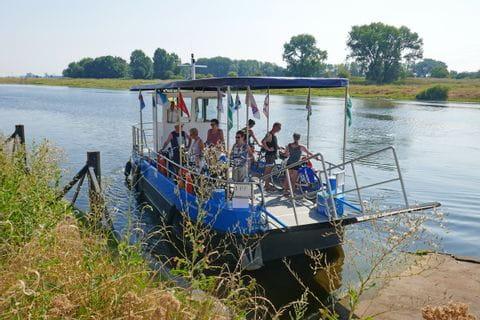 Bootsfahrt Maaseick