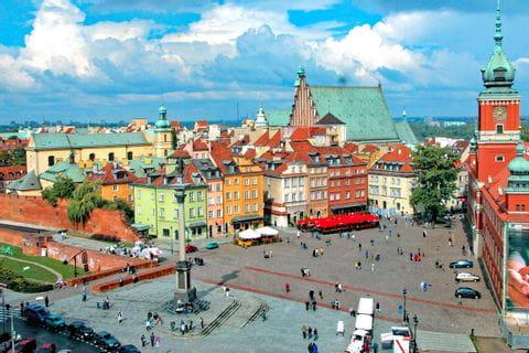 Warschau Stadtplatz