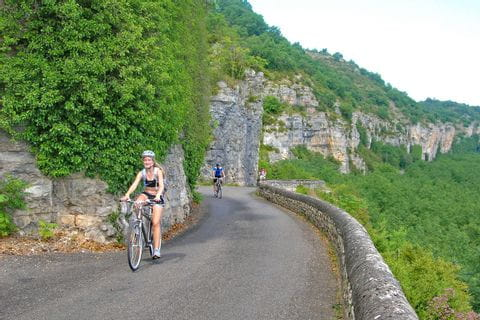 Cycle Path on the Dordogne