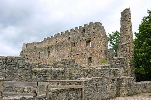 Eisenberg castle ruins