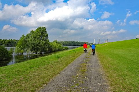 Rhine cycle path