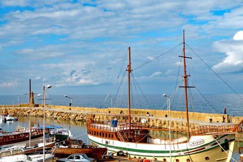 Zypriotischer Hafen