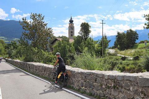 Radler am Etschradweg