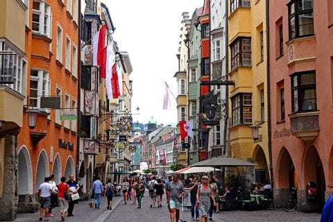 Old town in Innsbruck