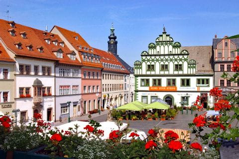 City centre Weimar