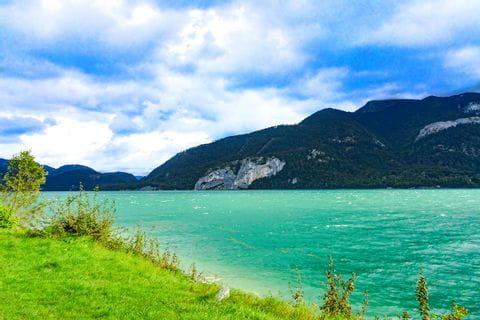 View at Lake Wolfgangeee