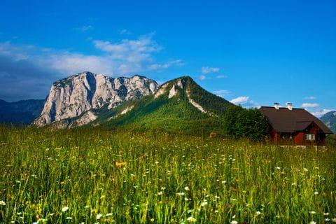 Bergpanorama Altaussee