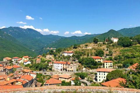 Albenga and the hills around