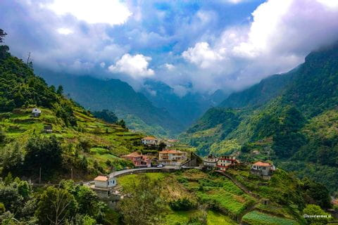 Tal auf Madeira