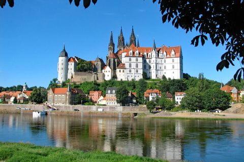 Schloss am Elbe Radweg