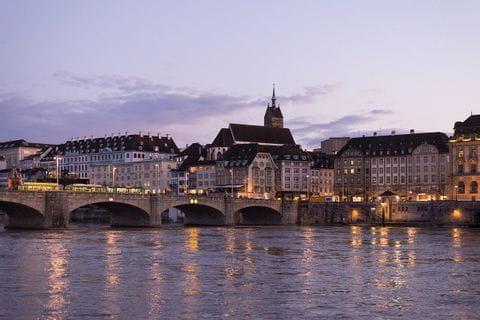 River Rhine in Basel