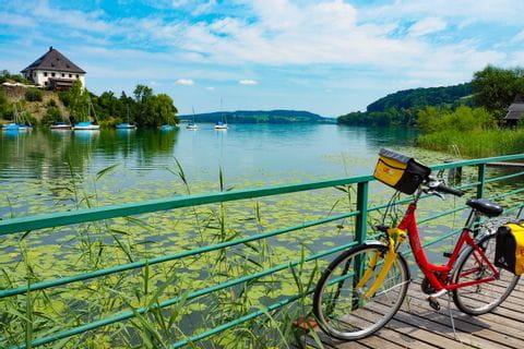 Fahrrad am Mattsee