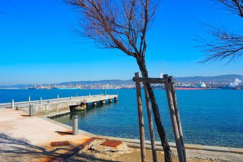 Muggia Ausblick auf See Triest