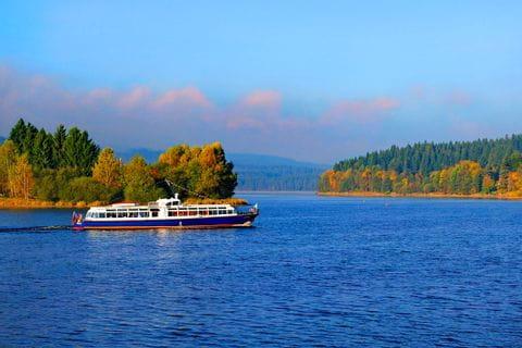 Schiffsausflug auf der Moldau