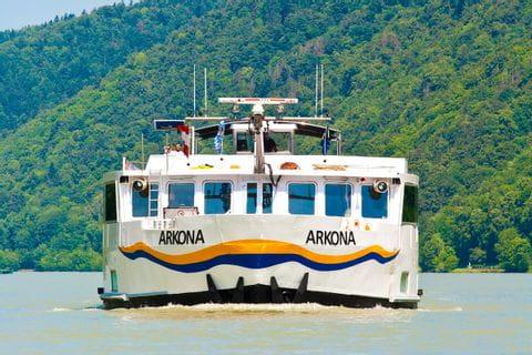 MS Arkona von Vorne