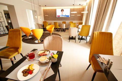 Frühstückssaal Hotel Amelie