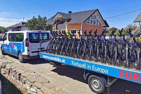 Leihräder-PLUS unterwegs nach Schärding