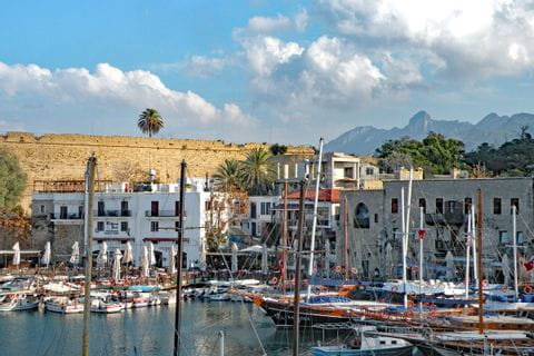 The city of Kyrenia