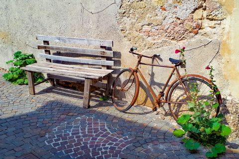 Sonnenbänkchen in Bassano