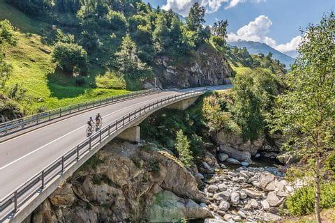 Radweg in der Schweiz
