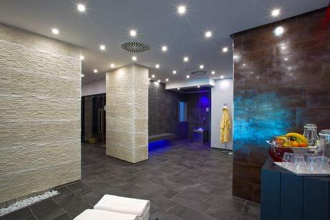 Wellnessbereich im Hotel Buja