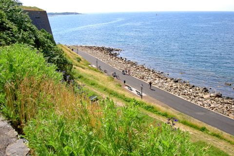 Cycling Trail along the Sea