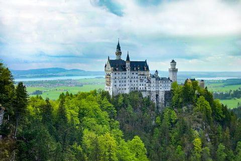 View of castle Neuschwanstein