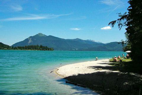Beach at Lake Isar