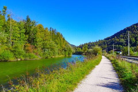 Cycle path in Bad Goisern