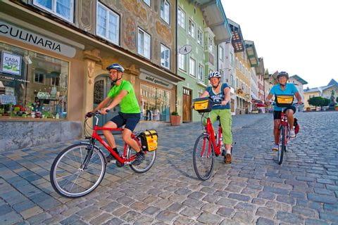Eurobike clients in Bad Tölz
