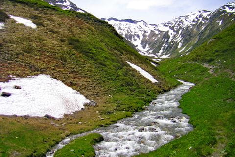 The source of the river Mur