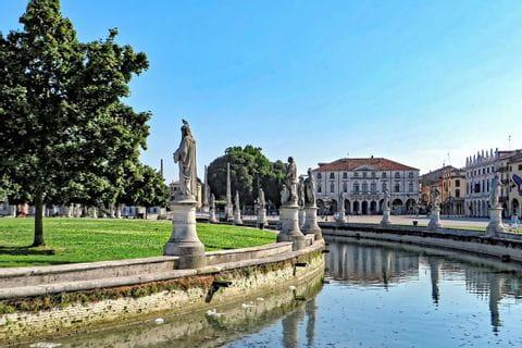 Statues at the Prato della Valle in Padova