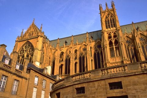Cathedral in Metz