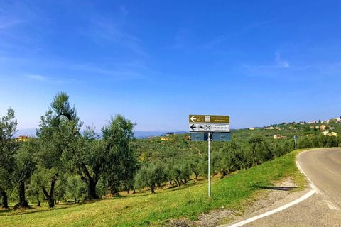 Radweg nach Vinci