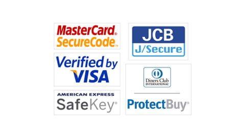 Online Zahlung 3d Secure - Logos