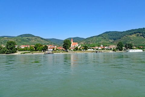 Weissenkirchen am Donau-Radweg