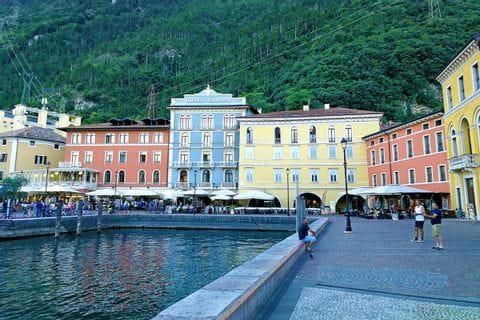 City centre of Riva