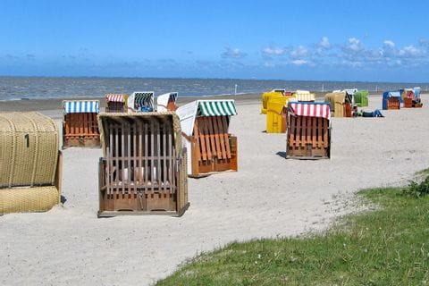 Inselhüpfen in Ostfriesland Strandkörbe