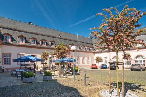 Innenhof Schlosshotel Weilburg