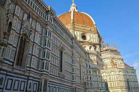 Blick auf den Dom in Florenz