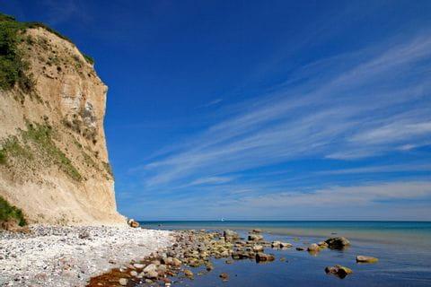 Rocks at the bank of the Baltic Sea