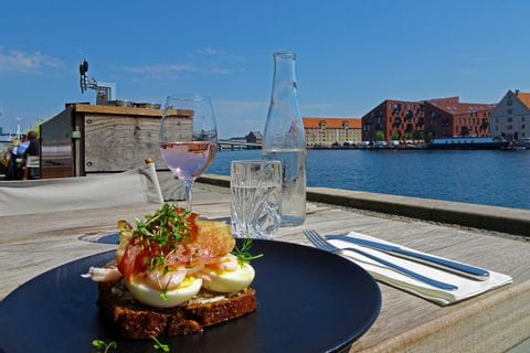 Snack in Copenhagen
