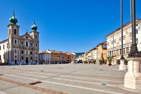Piazza Vittoria in Gorizia