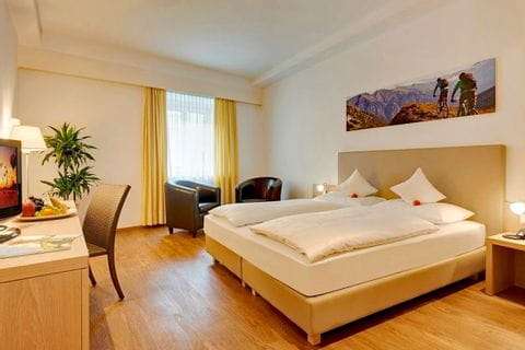 Sample room from hotel Krone in Brixen